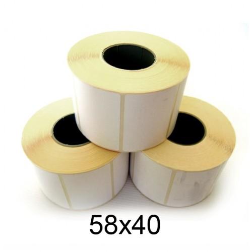 Термо - этикетка 58*40 (520 шт.)